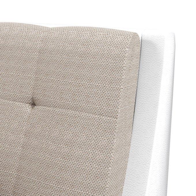 Кровать Гесиона 180х200 белого цвета с подъемным механизмом
