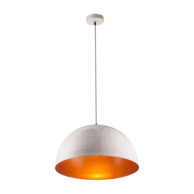Подвесной светильник Sandra белого цвета