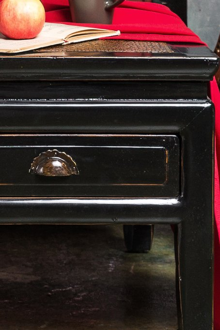 """Журнальный столик """"Фан-Чжо"""" с двумя ящиками"""