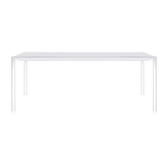 Обеденный стол Zoom белого цвета