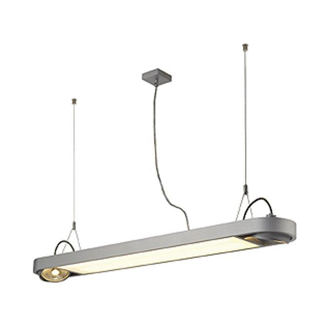 Светильник подвесной SLV Aixlight R Office серебристый