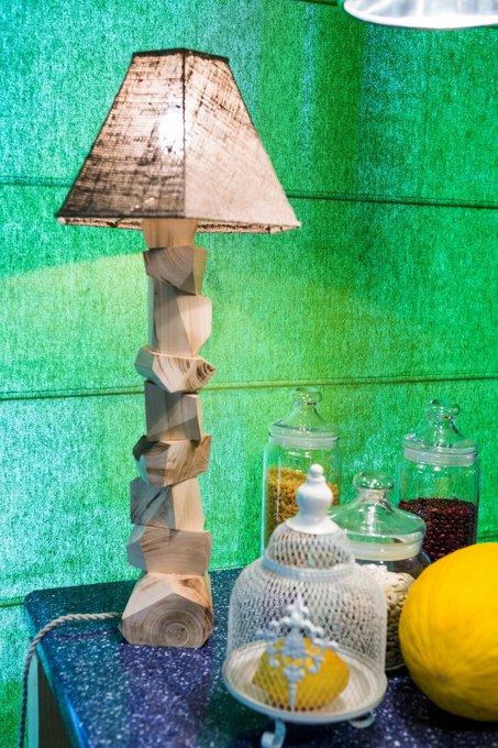 Настольная лампа Дерево - Вяз