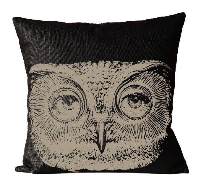 Подушка с портретом Лины Пьеро Форназетти Owl