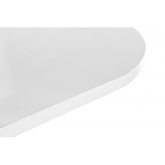 Обеденный стол Адней цвета белый глянец
