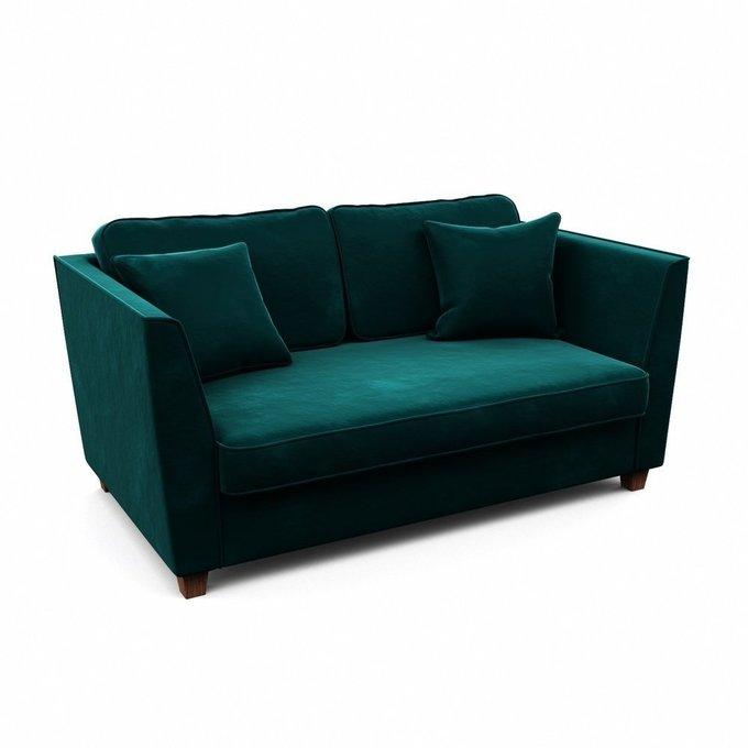 Двухместный диван Уолтер M зеленого цвета