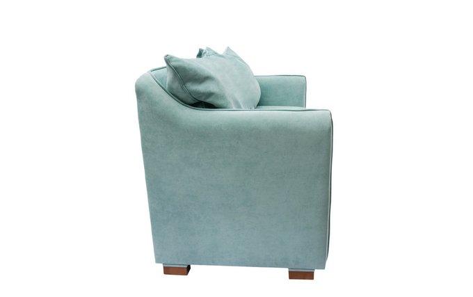 Раскладной диван Arthur L бирюзового цвета