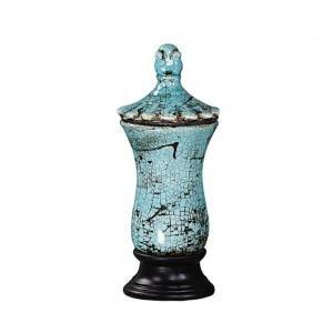 Ваза Stoneware Urn with Lid