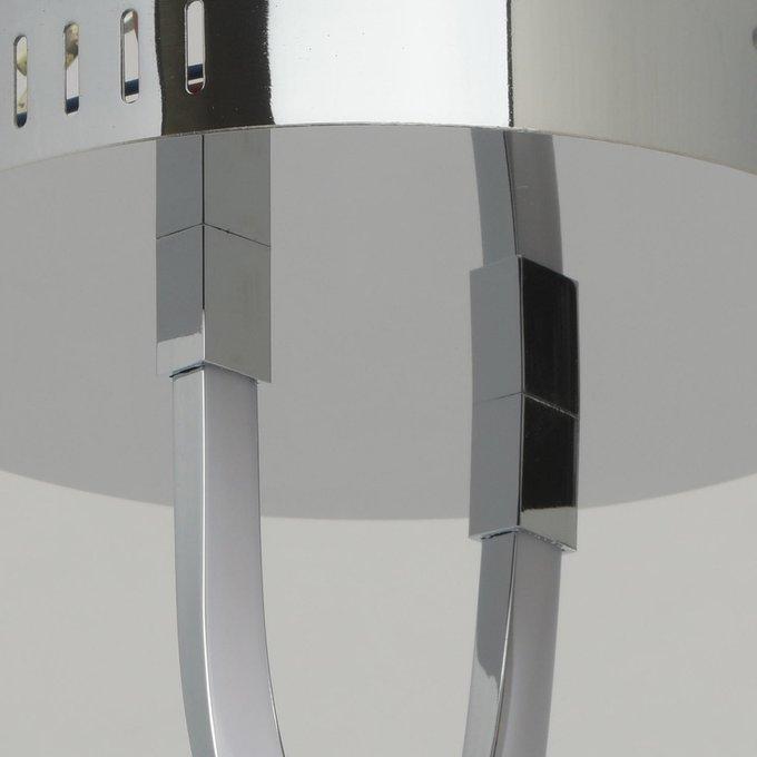 Потолочный светодиодный светильник Аурих цвета хром