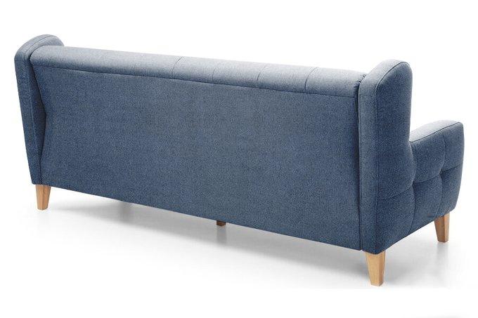 Диван-кровать Ингритт темно-синего цвета
