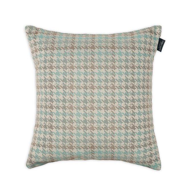 Декоративная подушка Milano Grace Mint мятного цвета