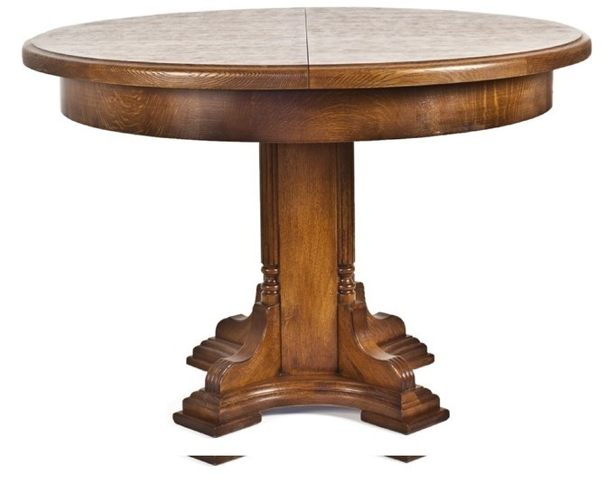 Раздвижной круглый стол Еcolife Еurope N-ERT из массива дуба