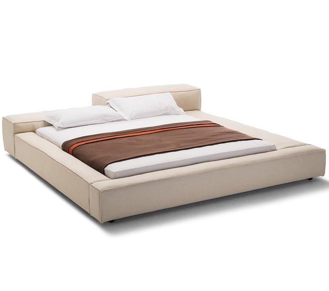 Кровать Extrasoft бежевого цвета 180х200