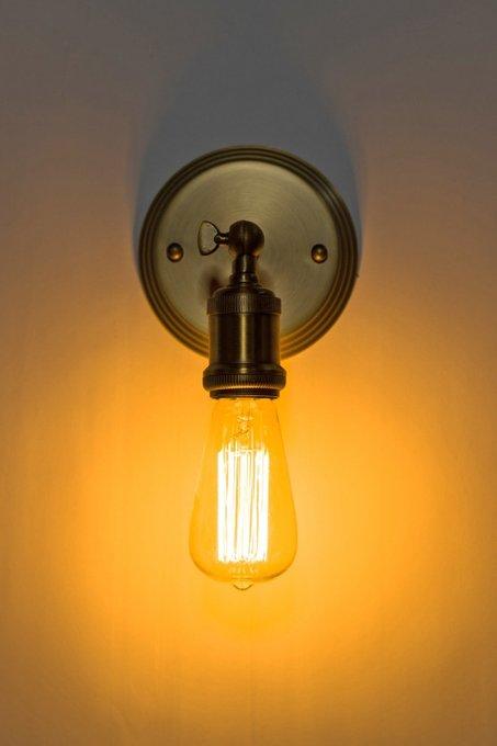 """Настенный светильник """"Filament"""" из стали"""