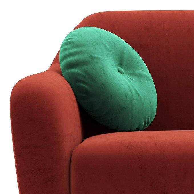 Двухместный диван Miami lux красного цвета