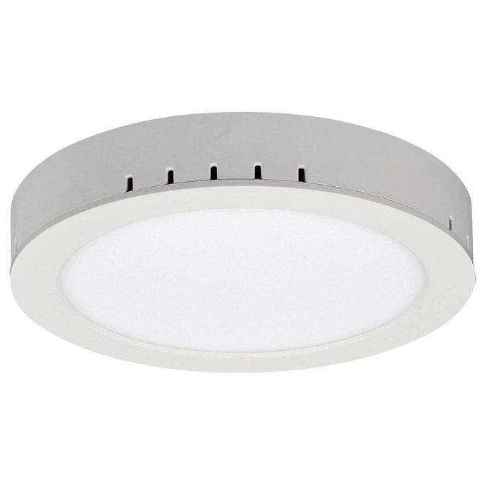 Накладной светодиодный светильник белого цвета