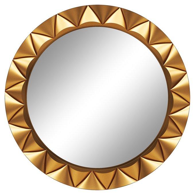 Настенное зеркало Эрленд Золото металлик (S)