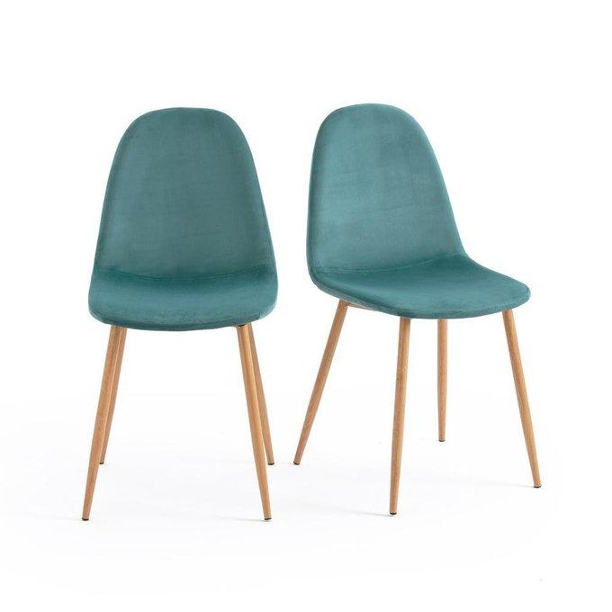 Комплект из двух стульев Lavergn бледно-зеленого цвета
