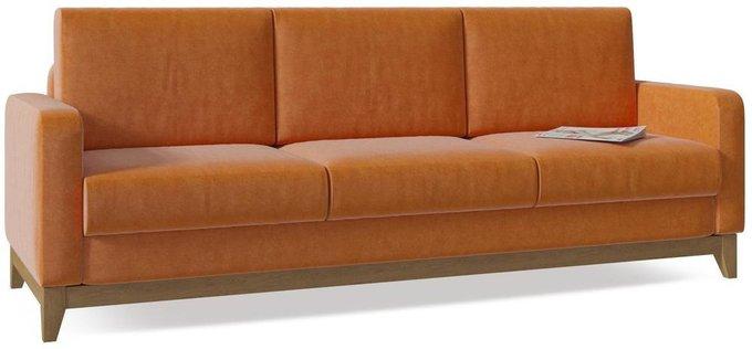 Диван-кровать Нордик оранжевого цвета