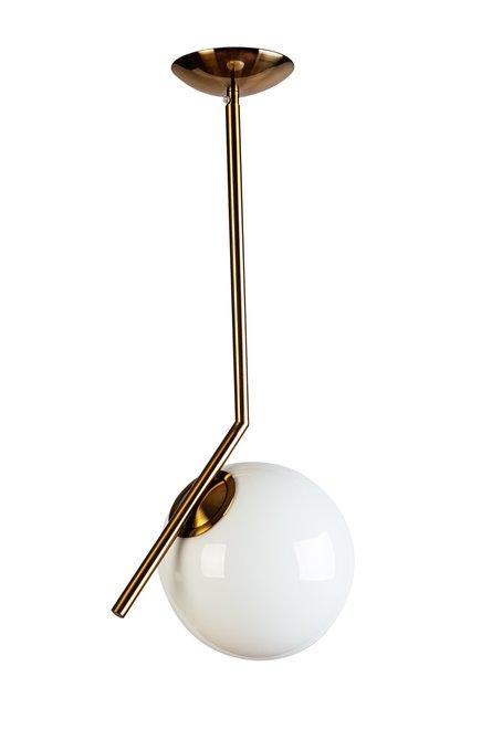 Лампа потолочная Шар с белым плафоном