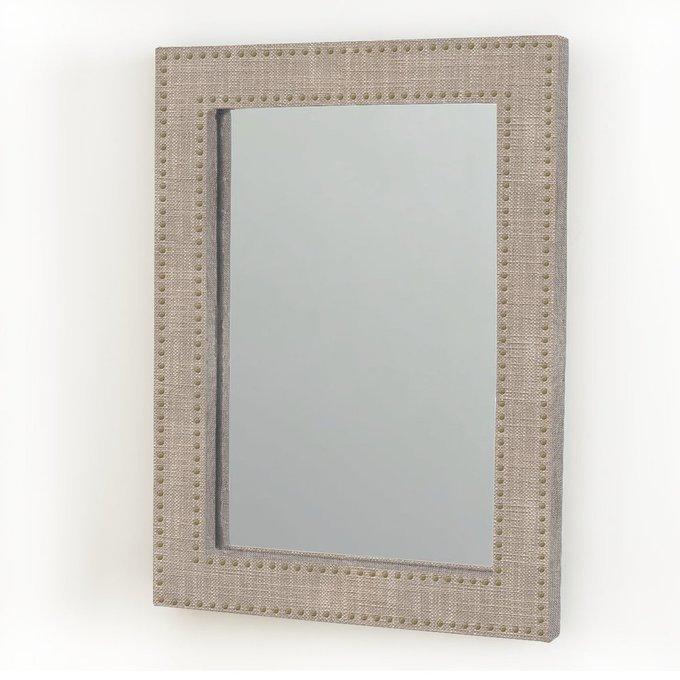 """Зеркало настенное мягкое """"Геометрия"""""""