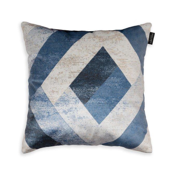 Декоративная подушка Verto синего цвета