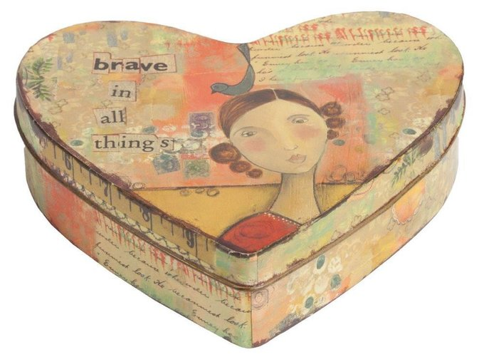 Декоративная коробка Brave