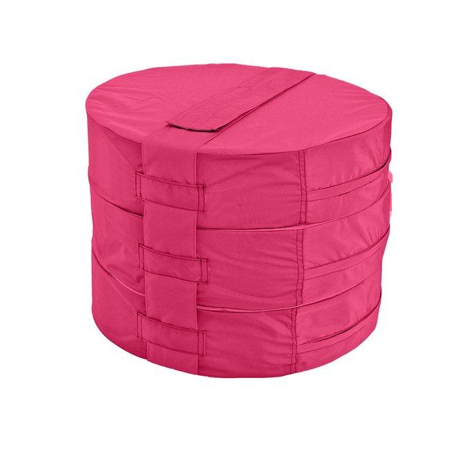 Набор из трех подушек на пол Pink