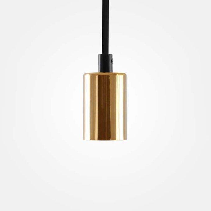 Подвесной светильник золотого цвета