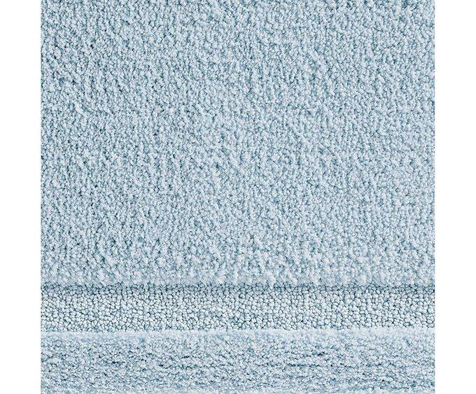 Коврик для ванной голубого цвета 53х86