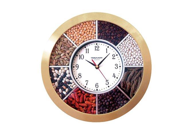 Часы настенные кварцевые Тройка