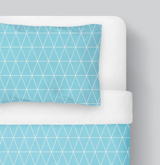 Комплект детского постельного белья Цветные треугольники