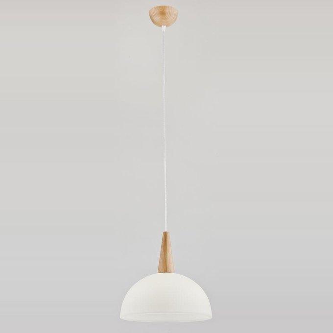 Подвесной светильник Alfa Anja с белым плафоном
