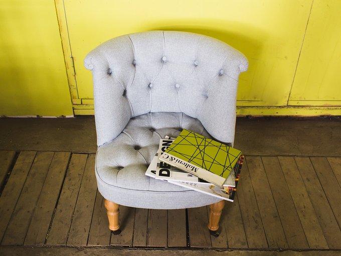 Кресло Visconte бежевого цвета