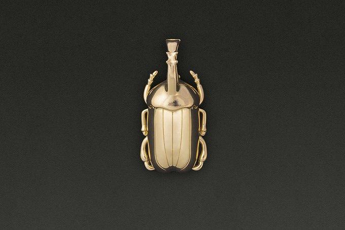 Открывалка для бутылок Doiy insectum золотая