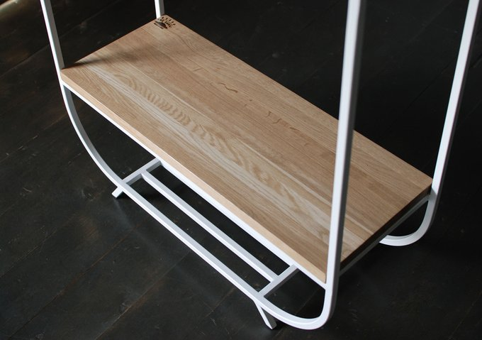 "Рейл thesarai ""Oak Shelf White"" 01 дуб"