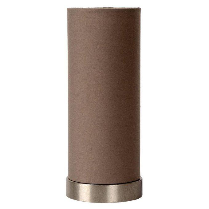 Настольная лампа Tubi коричневого цвета