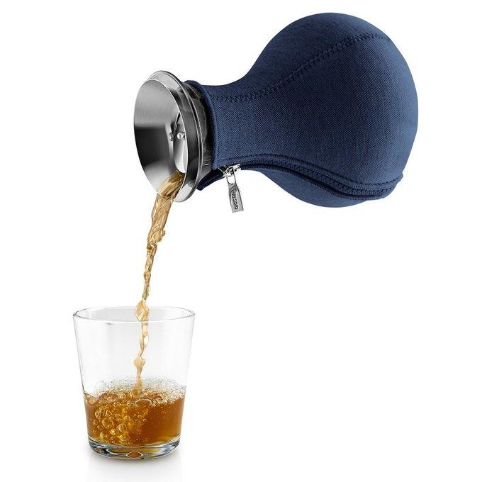 Чайник заварочный Tea maker темно-синего цвета