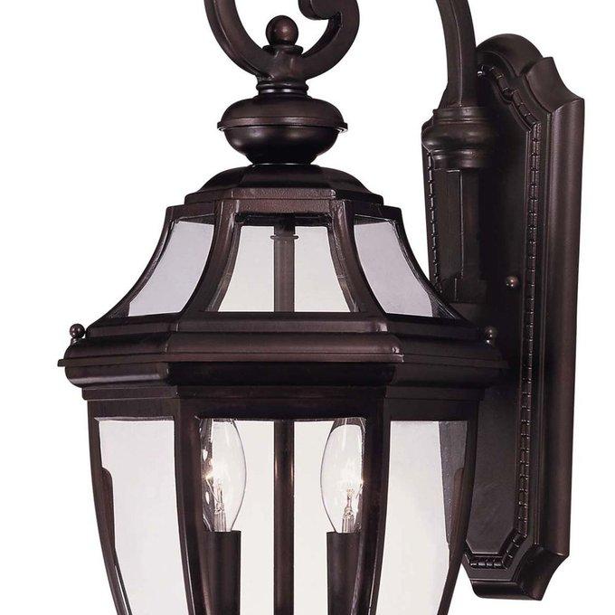 Настенный уличный светильник Endorado Savoy House из кованного металла