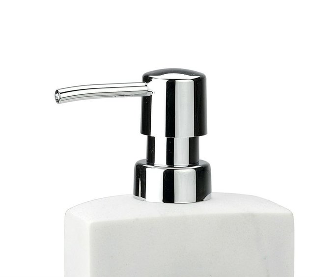 Диспенсер для моющего средства White Marble с сеткой