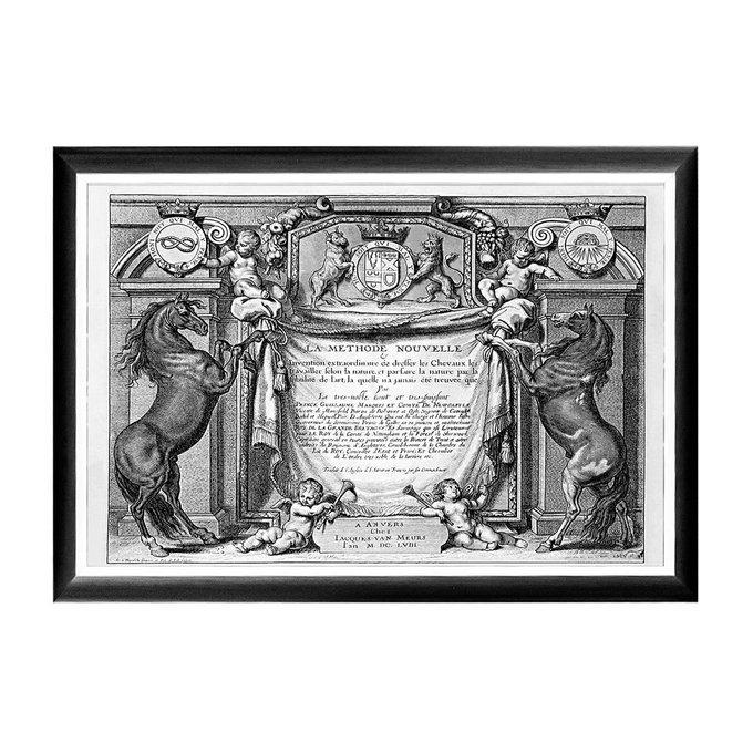 Арт-постер Новейший метод конного искусства титульный лист