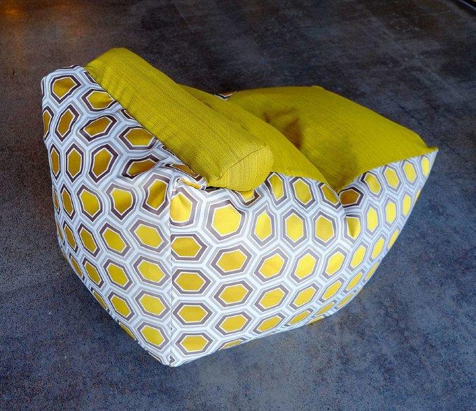 Кресло-мешок Трапеция Золотой улей