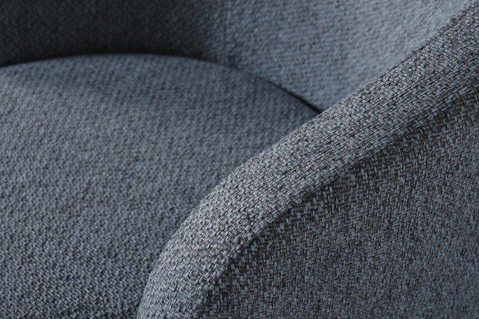 Кресло серо-голубого цвета