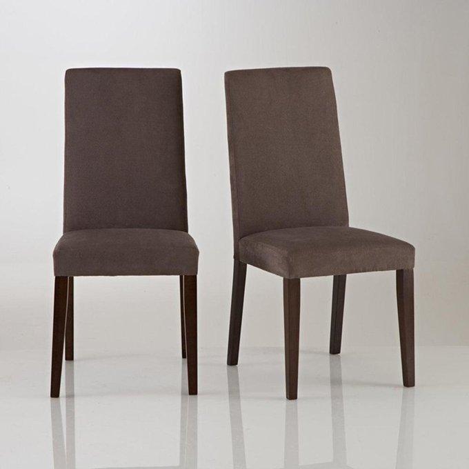 Комплект из двух стульев Hartford темно-коричневого цвета