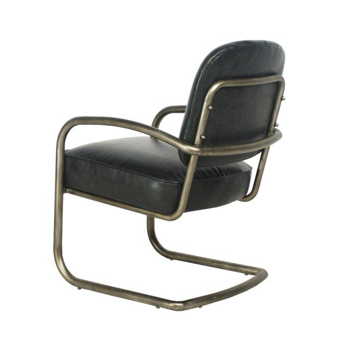 Кресло York черного цвета