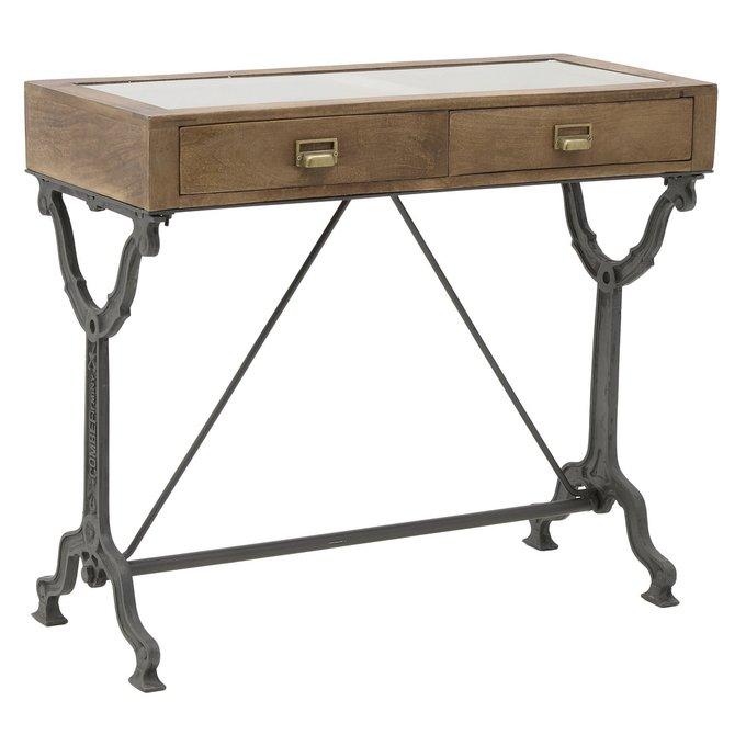 Консоль - письменный стол с двумя ящиками