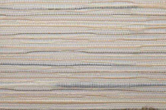 Штора Миниролл Комо бежево-серого цвета 60x160