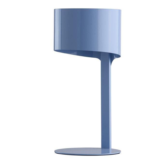 Настольная лампа Идея синего цвета
