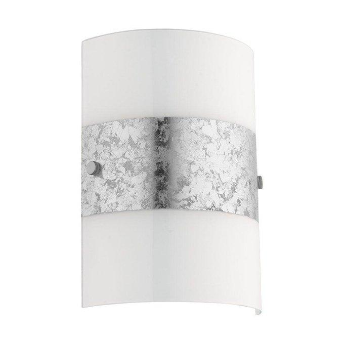 Настенный светильник Fiumana с плафоном из стекла