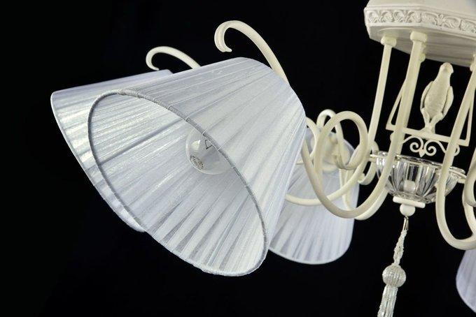 Люстра Cella белого цвета