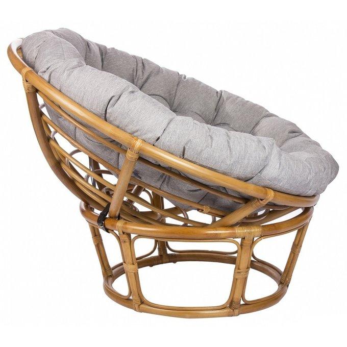 Кресло Papyrus из ротанга с подушкой мед